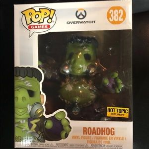 "Funko Pop! Overwatch Roadhog -6""- HT-#382"
